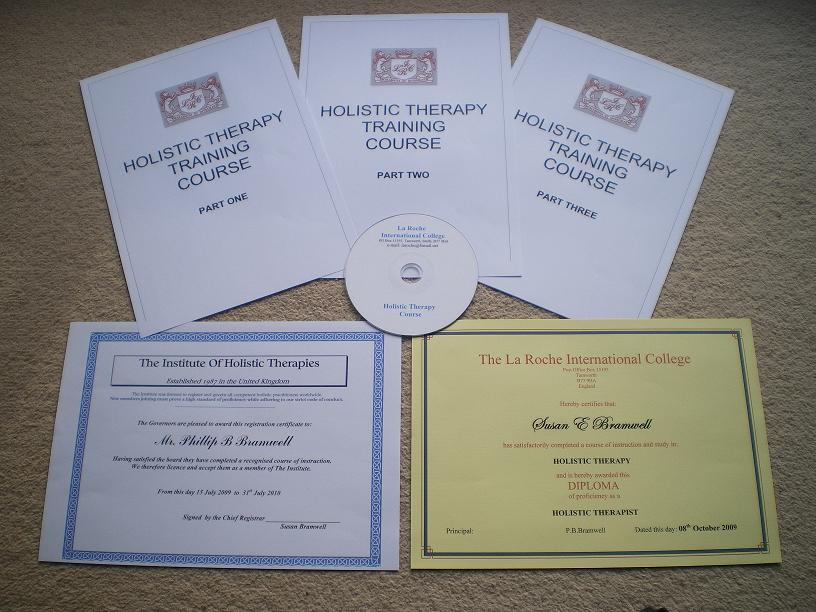 Holistic Therapy - Audio-Assisted Holistic Practitioner's Distance Learning Course